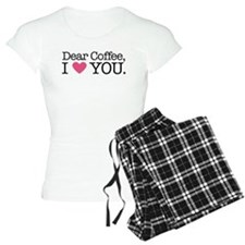 Dear Coffee, I Love You Pajamas