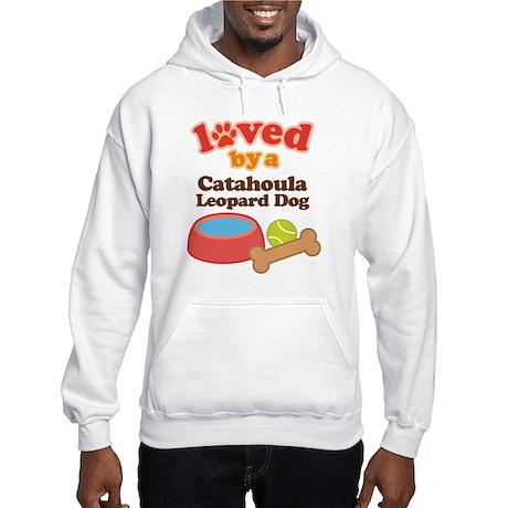 Catahoula Leopard Dog Pet Gift Hooded Sweatshirt