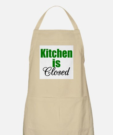 Kitchen Is Closed Barbecue/Kitchen Apron