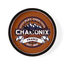 Chamonix Vibrant Wall Clock