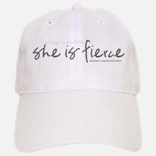 She is Fierce - Handwriting 2 Baseball Baseball Cap