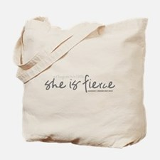 She is Fierce - Handwriting 2 Tote Bag