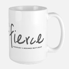 She is Fierce - Handwriting 2 Mug