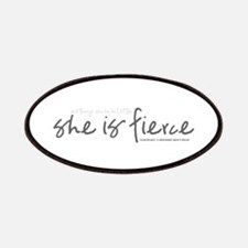 She is Fierce - Handwriting 2 Patches