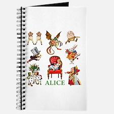 Alice In Wonderland Journal