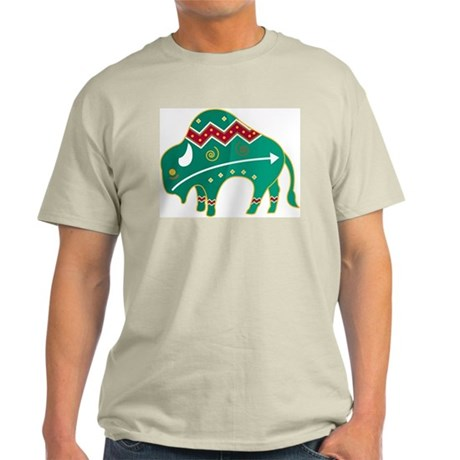 Indian Spirit Buffalo Light T-Shirt