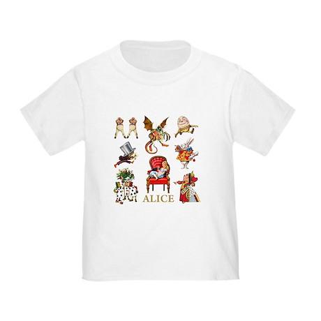 Alice In Wonderland Toddler T-Shirt