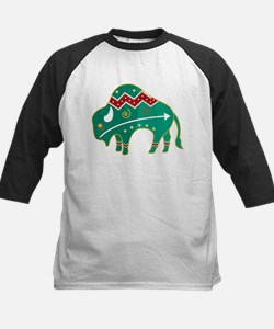 Indian Spirit Buffalo Kids Baseball Jersey