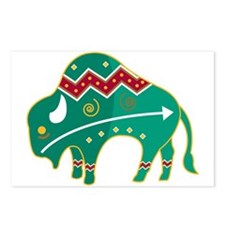 Indian Spirit Buffalo Postcards (Package of 8)
