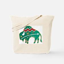 Indian Spirit Buffalo Tote Bag
