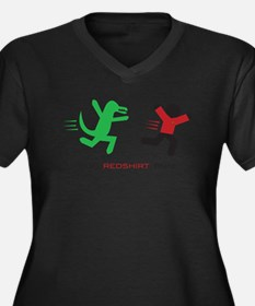 Run, Redshirt, Run! Plus Size T-Shirt