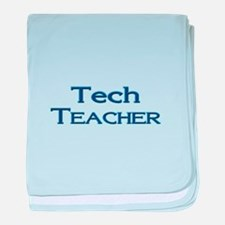 Tech Teacher baby blanket