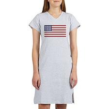 US Flag Women's Nightshirt