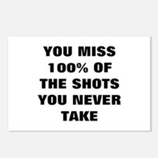 Basketball Shots Postcards (Package of 8)