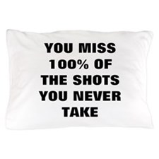 Basketball Shots Pillow Case