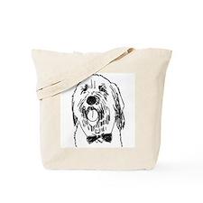 Distinguished Beardie Tote Bag
