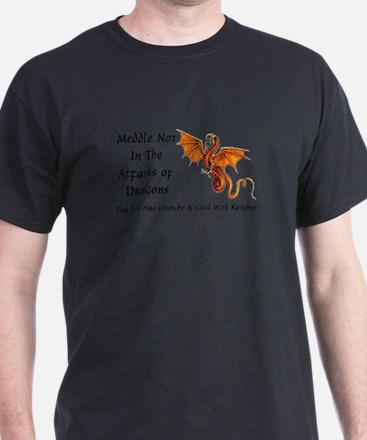 meddle not rect T-Shirt