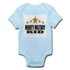 Mighty Military Kid Infant Bodysuit