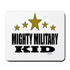 Mighty Military Kid Mousepad