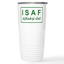 ISAF - Green (2) Travel Mug