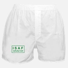 ISAF - Green (2) Boxer Shorts