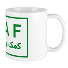 ISAF - Green (2) Mug