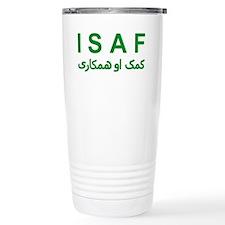 ISAF - Green (1) Travel Mug