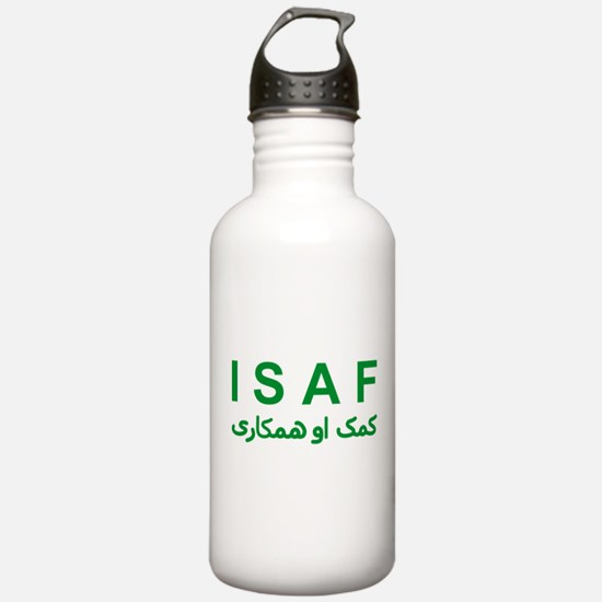 ISAF - Green (1) Sports Water Bottle