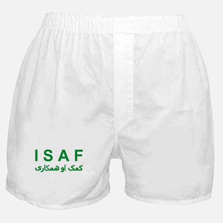 ISAF - Green (1) Boxer Shorts