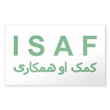 ISAF - Green (1) Decal