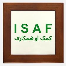 ISAF - Green (1) Framed Tile
