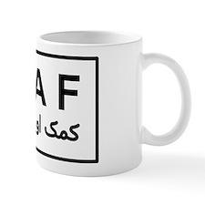 ISAF - B/W (2) Small Mug