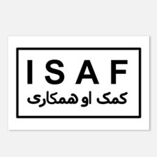 ISAF - B/W (2) Postcards (Package of 8)