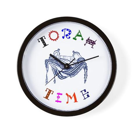 Torah Time Wall Clock