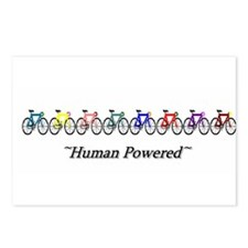 ~Human Powered~ Postcards (Package of 8)