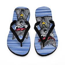 Cool Like Craigy Scottie Dog Flip Flops