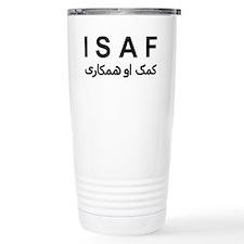 ISAF - B/W (1) Travel Mug