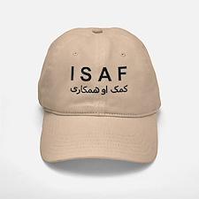 ISAF - B/W (1) Baseball Baseball Cap