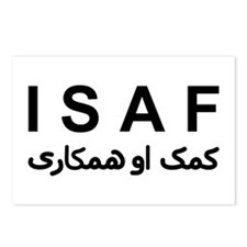ISAF - B/W (1) Postcards (Package of 8)