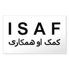 ISAF - B/W (1) Decal