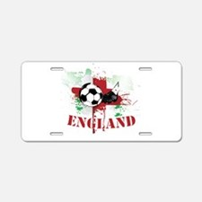 England football Soccer Aluminum License Plate