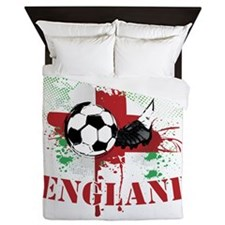 England football Soccer Queen Duvet