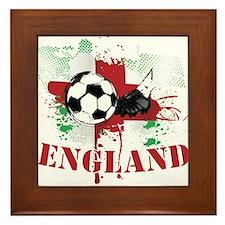 England football Soccer Framed Tile