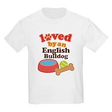 English Bulldog Pet Gift T-Shirt