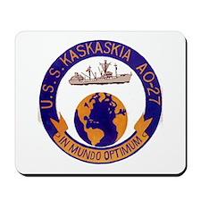 USS KASKASKIA Mousepad