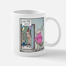 Dog Sniffogram Mug
