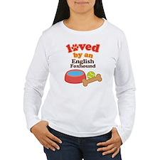 English Foxhound Dog Gift T-Shirt