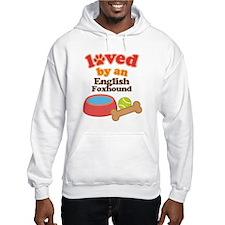 English Foxhound Dog Gift Hoodie