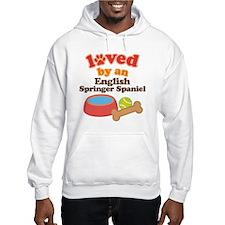 English Springer Spaniel Dog Gift Jumper Hoody