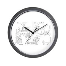 Veterinary Student Graduation 2 Wall Clock